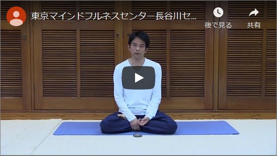 【コラム(動画)】長谷川センター長からのメッセージと日常でできるマインドフルネス