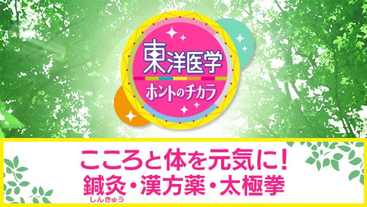 長谷川洋介先生 TV出演情報(NHK「東洋医学ホントのチカラ」)